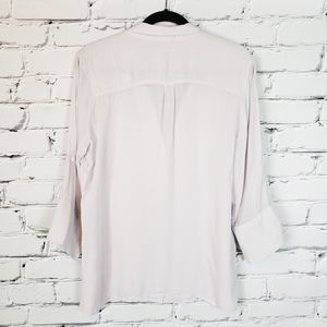 James Perse Tops - James Perse Lilac Button down Shirt